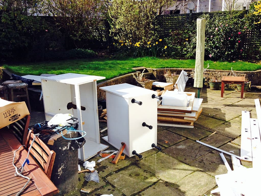 House and garden clearance in Glasgow - May 2014
