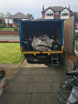 Household junk or rubbish removal for house clearances in Cumbernauld area